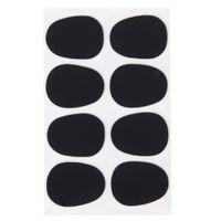 Wholesale Good deal Alto Tenor Saxophone Sax Mouthpiece Patches Pads Cushions Black mm