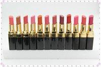 Wholesale 5pcs Makeup ROUGE Lipstick Lipsticks Colors Cosmetics Lip Stick
