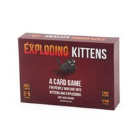 Wholesale Exploding Kittens Kickstarter Original Edition Card Game BRAND Cards Game Humanities Against Expansion Classic