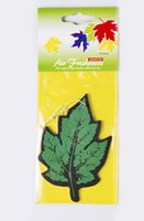 air freshener trees - 7Colors Set Tree Leaf Model Car Parfume Air Freshener Paper Christmas Tree Decoration