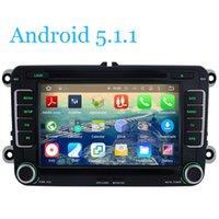 Wholesale Quad Core Android Car DVD Player GPS Tape Recorder Radio For Volkswagen PASSAT CC Golf Tiguan Touran Jetta Caddy Sharan