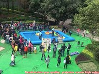 Wholesale Family inflatable Pool Square inflatable swimming pool largest inflatable pool for rental