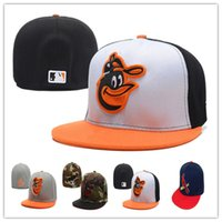 baltimore green - Baltimore Orioles fitted hats baseball cap full closure Orioles hats size flat brim hat Fitted Caps