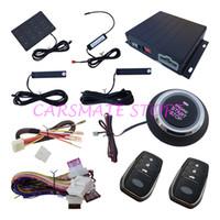 alarm lock parks - PKE Car Alarm With Passive Lock Or Unlock Car Doors Smart Key Protection Remote Start Push Start Car Engine Password Entry