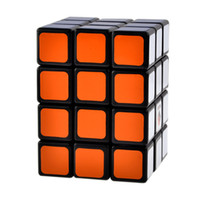 Wholesale CubeTwist X3X4 Camouflage Speed Magic Cube Puzzle Toys for Kids Children Black