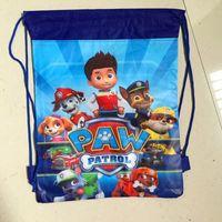 Wholesale 2016 Cartoon Paw Patrol Snow Slide Star Wars bag Theme Travel Home Clothing Organizer Storage Bags School bag bk44