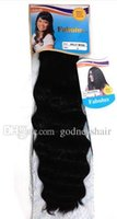 adorable hair weave - High Quality Adorable Fabulux Hollywood hair synthetic hair weft weave with a closure pieces in one pack