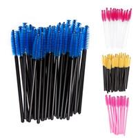 Wholesale Fashion Makeup Brushes Disposable Mascara Eyelash Brush Sets Cosmetic Oval Shaped Multipurpose Foundation Powder Brushes BZ