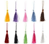 Wholesale 100PCs Mixed Color Silky Tassel Fringe Decorative Tassel cm quot