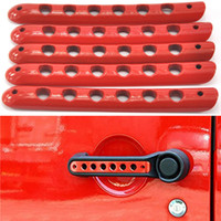 Wholesale Red Handle Cover Trim Bar Moulding for JEEP Wrangler JK Door
