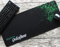 bags mouse mats - Razer Gaming Mouse Pad Nature Rubber Material Speed Mouse Mat x11 x0 in Professional Long Mice Mat Sewed PP bag a
