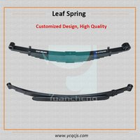 Wholesale Trailer Heavy Duty Mini Truck Leaf Spring Suspension Taper Leaf Spring