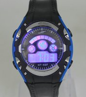 best selling watches for men - Hot Selling Night Luminous Colors LED light Students Silicone Digit Watches Sports Casual Best Gift for Women and Men Outdoor Sports Watch