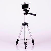 La aleación de aluminio mini-DSLR Rosca de trípode de cámara digital, teléfono portátil de viaje trípode para la cámara del smartphone acción del deporte