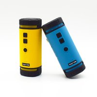 Wholesale Bigrids Outdoor Cycling Sport Wireless Stereo Portable Bluetooth Speaker of Choice Yellow or Blue with