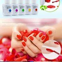 Wholesale Harmony Gelish Polish Soak off LED UV Gel nail polish Nail art lacquer nail gel French nail