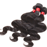 Wholesale 10A Brazilian Peruvian body wave hair weave Indian Malaysian Russian Mongolian Cambodian virgin hair weft bundles wavy bulk hair extension