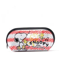Wholesale Snoopy Lovely Shell Add Thick Makeup Bag Waterproof Wash Bag