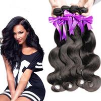 beauty store - 7A Brazilian Virgin Hair Body Wave Bundles Brazilian Hair Weave Bundles Brazilian Body Wave Human Hair Top Beauty Hair Store
