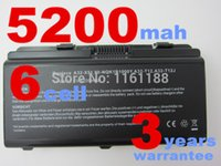 Wholesale laptop battery for ASUS A31 T12 A32 T12 A32 X51 A32 XT12 A32 T12J A31 X51 A31 X58 NLF1B2000Z NLF1B2000Y NQK1B1000Y