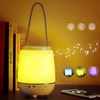 audio switch diy - LED Portable Bluetooth Audio Lamp Touch Switch Timing Desk Lamp Outdoor Living Room Bedroom Lights Dimmerable USB Rechargeable Luminaria