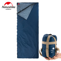 Wholesale 2016 New Ultralight Naturehike Outdoor Travel Camping Sleeping Bag Summer Ultralight MINI Double Envelope Adult Cotton Sleeping Bags