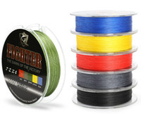 Wholesale Multifilament PE Braided Fishing Line Carp Fishing Rope Wire m Super Strong Stands LB