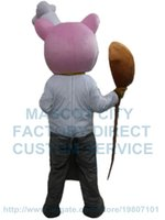 adult chef costume - pig chef mascot costume custom adult size cartoon character cosply carnival costume