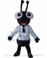 ant dress - cheap ant mascot costume factory direct adult size cartoon black ant insect theme anime cosply costumes carnival fancy dress