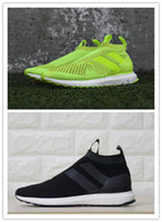 aa flooring - Ace PureControl Black Yellow Primeknit Ultra Boost Running Shoes David Beckham AA High Quality Size