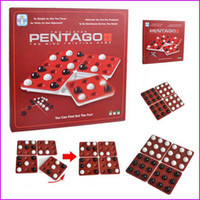 Wholesale PENTAGO Board Game Players Night Bar Chess Pentago Board Game Easy Play English Version