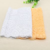Wholesale Hot selling Width CM Super Elastic Lace Fabric diy clothes fabric accessories