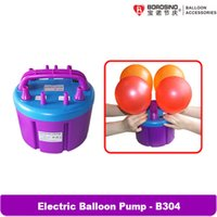 air filling machine - B304 W Four Filling Nozzle Inflatable Electric Balloon Pump Air Inflator Machine