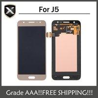 Grade AAA + pour Samsung pour Galaxy J5 LCD J500 J500F J500M J500Y J51 J510 Affichage LCD avec écran tactile Livraison gratuite