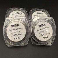 28 gauge kanthal wire - 100feet Kanthal A1 Wire Wire Gauge for Ecig DIY Atomizer RDA RBA Coil
