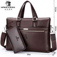 Wholesale Get handbags Tier design with backpack man bag business men handbag leisure Shoulder Messenger bag man briefcase