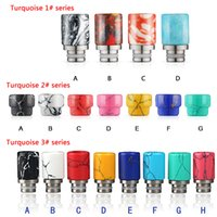 bear series - NEW ARRIVAL Wide Bore Turquoise Drip Tips Series subtank mini RDA drip tips for ecigs Kennedy lyfe vape mod e cigarette