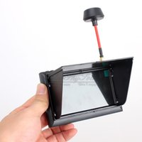 Wholesale quot TFT LCD Screen Monitor Displayer Built in G CH Receiver for FPV Multicopter F408 with Battery mAh