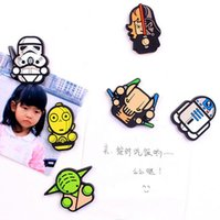 Wholesale Newest Star Wars Fridge Magnet Cute Cartoon Fashion Star War Darth Vader Funny Refrigerator Toy