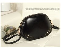 Wholesale Candy Color Shell Bag Small Bags Fashion Rivets Lady Bag Factory Direct OEM Cross body bags P800010