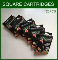 Wholesale Square Cartridges packs