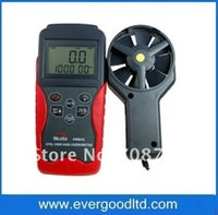anemometer wind vane - AM841 LCD Handheld Digital Anemometer Air Volume Wind Speed Meter Temperature Measuring with Vane Sensor Backligh