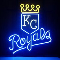 bars city - NEW MLB Kansas City Royals Baseball Glass Neon Sign Light Beer Bar Pub Sign Arts Crafts Gifts Sign quot