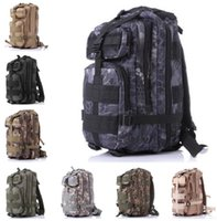 Backpacks Women Sport New Arrival 3P Outdoor Military Army Tactical Backpack Oxford Sport Camouflage Bag 30L for Camping Traveling Hiking Trekking a711