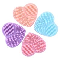 Wholesale DHL bag Multi function makeup brush brush cleaning tools which heart Brush