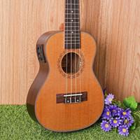 Wholesale 23 quot Ukulele Pinus koraiensis Acoustic guitar strings guitarra musical instruments electric guitar