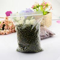 beverage powder packaging - 17x25CM Transparent Jewelry Pill Pearl Powder Hermetic Bag Zip Lock Plastic Gift Packaging Bags