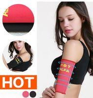arm bandages - Sporty Thin Arm Sleeve Dress Hot Sauna Sweat Arm Slimmer Bandage B4331