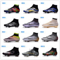 shoe factory - 2016 Mercurial Superfly What the Mercurial FG Men s Soccer Boots Colors Full Origial Soccer Cleats Factory Outlet Football Shoes
