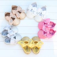 bb fabrics - Pretty bows girl toddler shoes elastic bands children spring autumn shoes months BB soft soled shoes pair B7